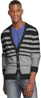 Kenneth Cole Reaction Sweater, Slub Stripe Cardigan