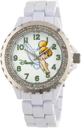 EWatchFactory Disney Women's W000497 Tinker Bell Enamel Sparkle Bracelet Watch