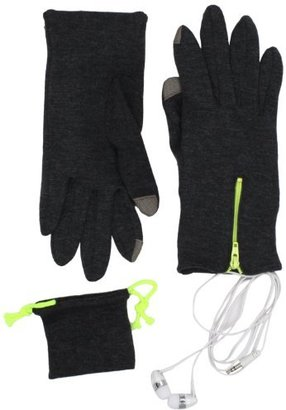 Echo Women's Touch Glove And Earbuds Music Set
