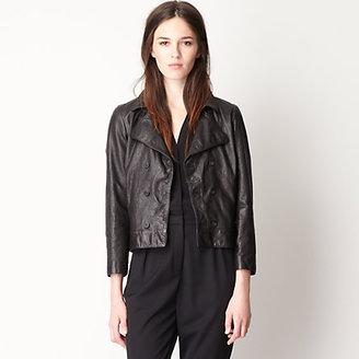 Steven Alan agathe leather jacket