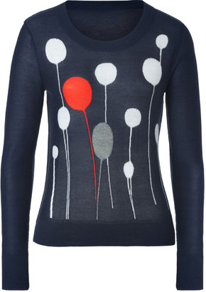 Sonia Rykiel Cashmere Pullover in Marine Fonce