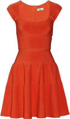 Issa Ribbed-knit dress