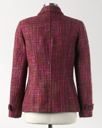 Coldwater Creek Fine touch bouclé jacket