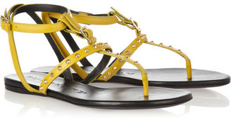 Burberry Shoes & Accessories Studded leather sandals