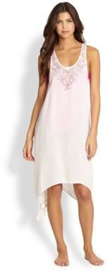 6 Shore Road Catch A Falling Star Embroidered Dress