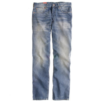 J.Crew Levi's® Vintage Clothing 501xx® 1947 jean in rumble wash