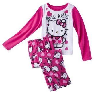 Hello Kitty Girls' 2-Piece Long-Sleeve Pajama Set
