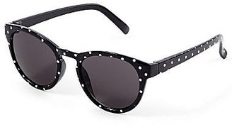 JCPenney On the Verge Polka Dot Sunglasses