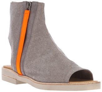 Maison Martin Margiela cut out ankle boot