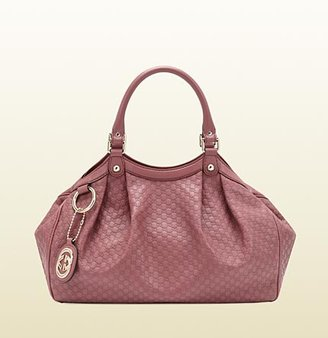 Gucci Sukey Dark Pink Microguccissima Tote