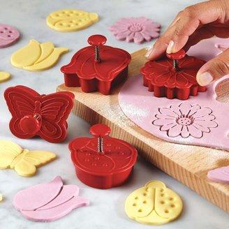 Cake BossTM Decorating Tools 4-pc. Springtime Fondant Press Set