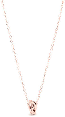 Gorjana Infinity Ring Pendant Necklace