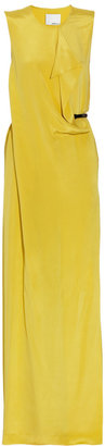 3.1 Phillip Lim Belted silk-crepe gown