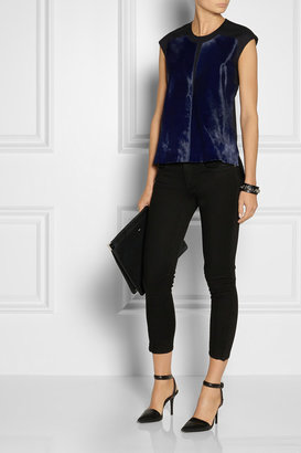 Helmut Lang Cropped mid-rise skinny jeans