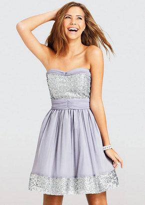 Delia's Sequin Trim Dress