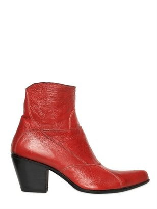Gianni Barbato 70mm Calfskin Low Boots