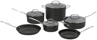 Cuisinart Chef's Classic Nonstick Hard Anodized Cookware Set 10pc, Black
