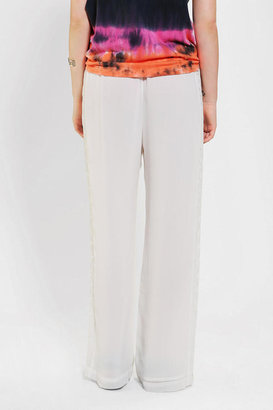 Urban Outfitters Staring At Stars Embroidered Wide-Leg Pant