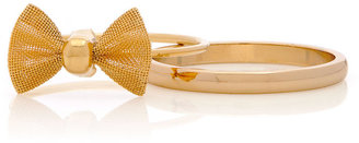 American Apparel Stacking Bow Two Ring Set