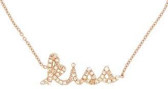 Sydney Evan Diamond KISS Bracelet - Rose Gold