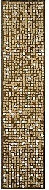 Martha Stewart RugsTM Mosaic Runner – Oolong Tea