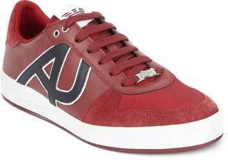 Armani Jeans Logo Low Top Sneakers