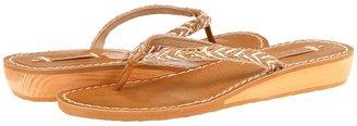 Roxy Creole (White/Tan) - Footwear