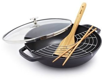 Staub Black Perfect Pan, 4.5 qt.