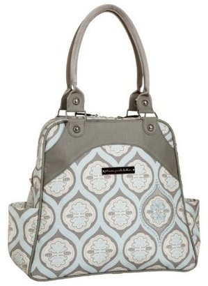 Petunia Pickle Bottom Sashay Satchel - Clouds in Cologne