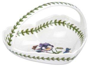 Portmeirion Dinnerware, Botanic Garden Scalloped Heart Shaped Basket