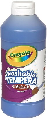 Crayola Artista II Washable Tempera Paint - Blue 16oz.