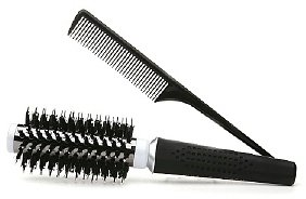 Vidal Sassoon Appliances Vidal Sassoon Titanium Ionic Technology Round Thermal Brush + Bonus Styling Comb