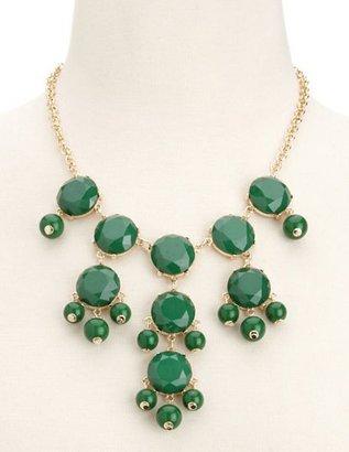 Charlotte Russe Bubble Bead Statement Necklace