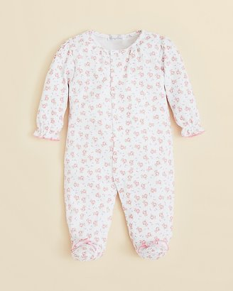 Kissy Kissy Infant Girls' Tea for Two Footie - Sizes 0-9 Months