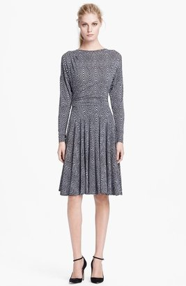 Tracy Reese Print Jersey Dress