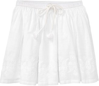 Old Navy Girls Embroidered-Hem Skirts