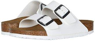 Birkenstock Arizona (White Birko-Flor) Sandals