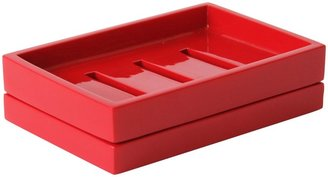 Jonathan Adler Lacquer Soap Dish, Red
