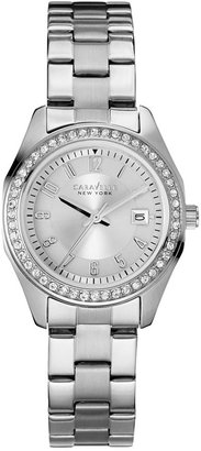 Caravelle New York by Bulova Women's Stainless Steel Bracelet Watch 28mm 43M108 $105 thestylecure.com