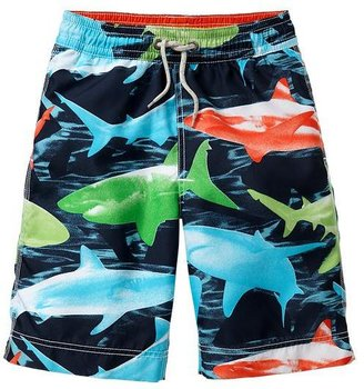 Gap Multi-color shark swim trunks