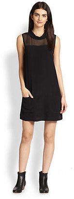 Joie Sarie Silk Shift Dress