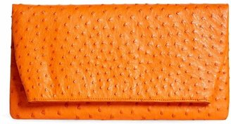 Brooks Brothers Ostrich Clutch