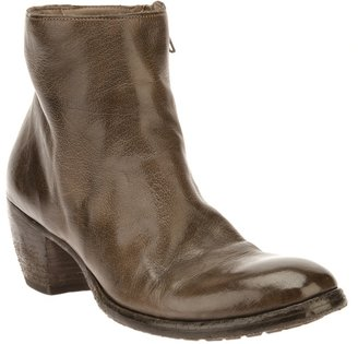 Officine Creative WASHED ANKLE BOOT
