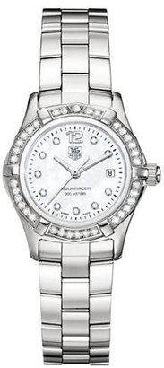 Tag Heuer Ladies' Aquaracer Stainless Steel and Diamond Watch