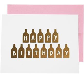 Ashkahn Happy Birthday Card - Multi