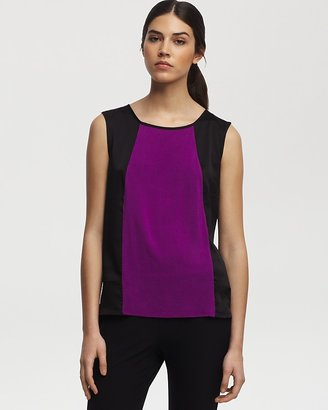 Kenneth Cole New York Top - Marigold Mixed Media Knit