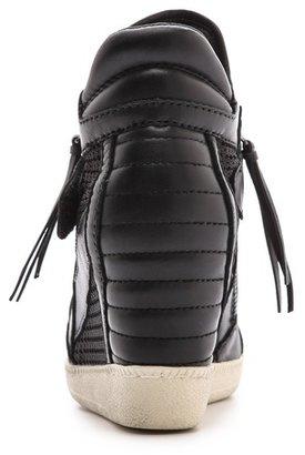 Ash Galaxy Open Toe Wedge Sneakers