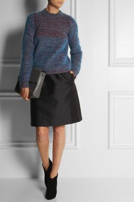 Jil Sander Contrast-knit cashmere-blend sweater