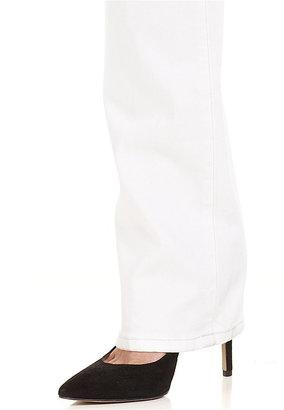 Joe's Jeans Bootcut White-Wash Jeans