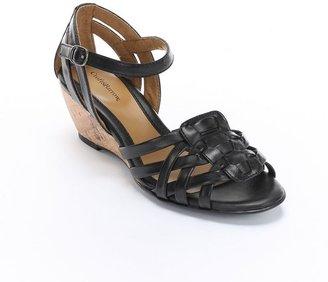 JLO by Jennifer Lopez Croft and barrow wedge sandals - women